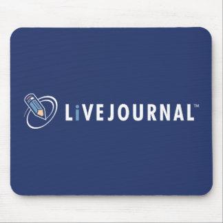 Logotipo de LiveJournal horizontal Tapetes De Ratón