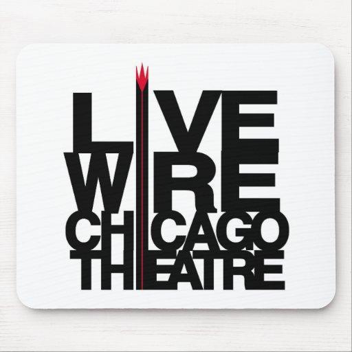 Logotipo de LiveWire Alfombrillas De Ratones