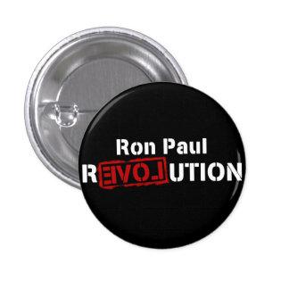 Logotipo de lo contrario del Pin del botón de la r