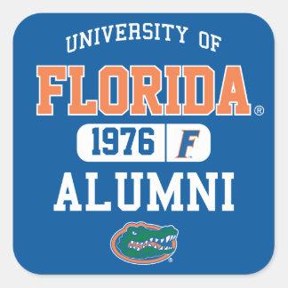 Logotipo de los alumnos del uF Pegatina Cuadrada