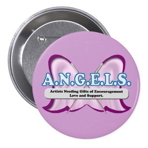 Logotipo de los ÁNGELES donado por el Amy Sagan Pin