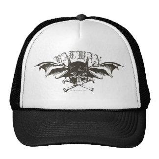 Logotipo de los Batwings de la capucha del cráneo  Gorras