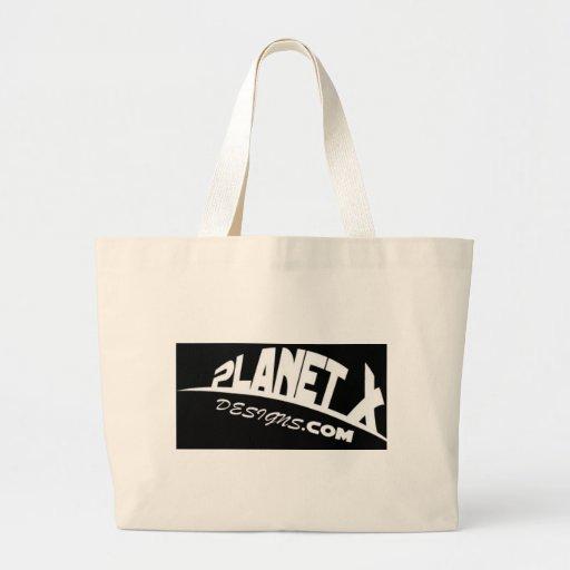 Logotipo de los diseños del planeta X Bolsas