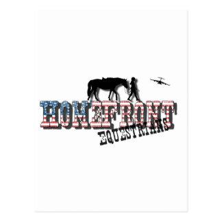 Logotipo de los Equestrians del HomeFront Postal