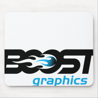 Logotipo de los gráficos del alza alfombrillas de ratón