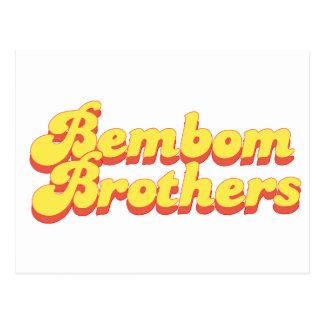 Logotipo de los hermanos de Bembom Postales