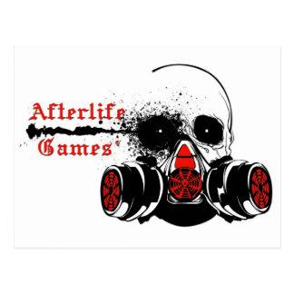 Logotipo de los juegos de la vida futura postales