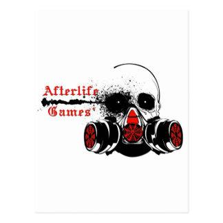 Logotipo de los juegos de la vida futura tarjetas postales