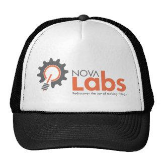 Logotipo de los laboratorios de Nova Gorros Bordados