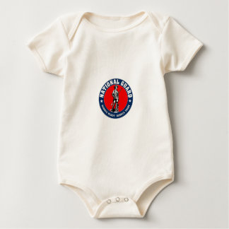 Logotipo de los militares del Guardia Nacional del Trajes De Bebé