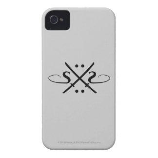 Logotipo de los ojos de serpiente iPhone 4 Case-Mate fundas