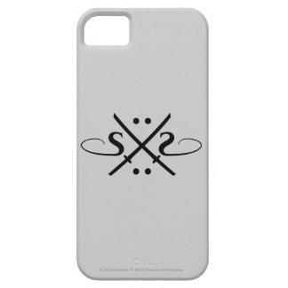 Logotipo de los ojos de serpiente funda para iPhone SE/5/5s