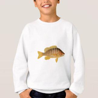 Logotipo de los pescados del profesor sudadera