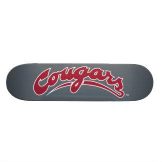 Logotipo de los pumas de WSU Skateboard