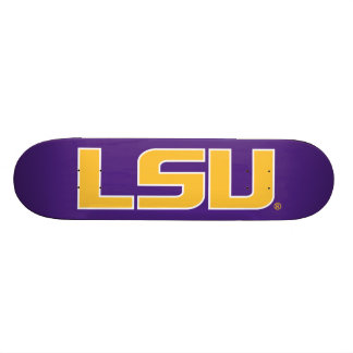Logotipo de LSU Tabla De Skate