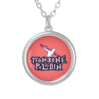 Logotipo de lujo del paladín del Trombone Joyeria Personalizada