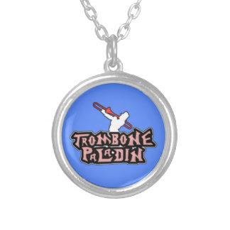 Logotipo de lujo del paladín del Trombone Grimpola
