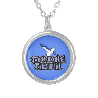 Logotipo de lujo del paladín del Trombone Grimpolas