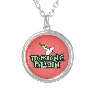 Logotipo de lujo del paladín del Trombone Joyerias