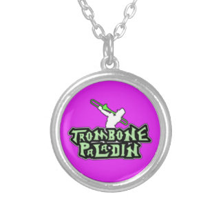 Logotipo de lujo del paladín del Trombone Collar