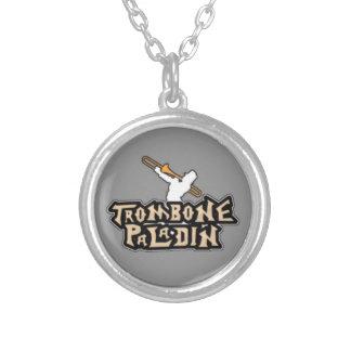 Logotipo de lujo del paladín del Trombone Colgante Personalizado