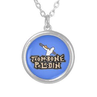 Logotipo de lujo del paladín del Trombone Joyeria