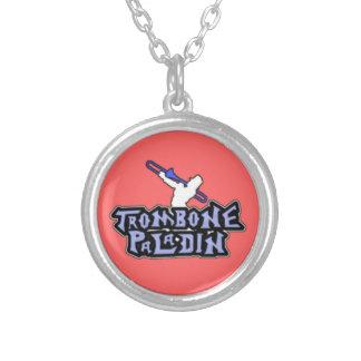 Logotipo de lujo del paladín del Trombone Collar Personalizado