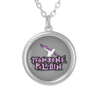 Logotipo de lujo del paladín del Trombone Grimpolas Personalizadas