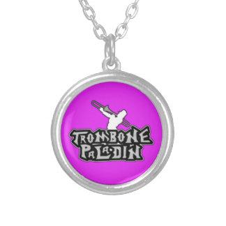 Logotipo de lujo del paladín del Trombone Joyerias Personalizadas