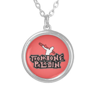 Logotipo de lujo del paladín del Trombone Pendiente Personalizado