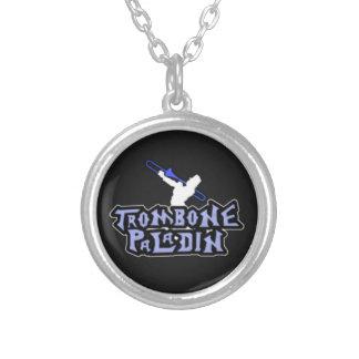 Logotipo de lujo del paladín del Trombone Pendientes Personalizados