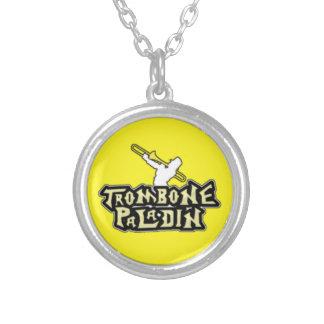 Logotipo de lujo del paladín del Trombone Collares Personalizados