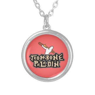 Logotipo de lujo del paladín del Trombone Collares