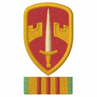 Logotipo de MacV Vietnam Camiseta Polo Bordada