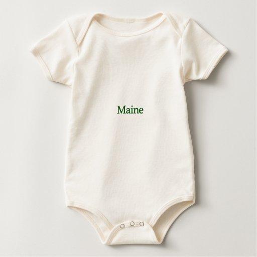 Logotipo de Maine los E.E.U.U. Enterito