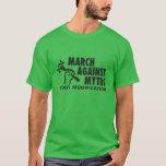 Logotipo de MAMyth en la camiseta verde oscuro