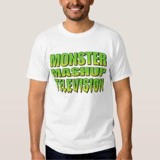 Logotipo de Mashup TV del monstruo Camisas