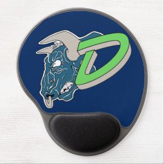 Logotipo de MausePad de los forajidos Alfombrillas De Ratón Con Gel