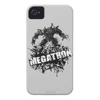 Logotipo de Megatron roto iPhone 4 Case-Mate Cobertura