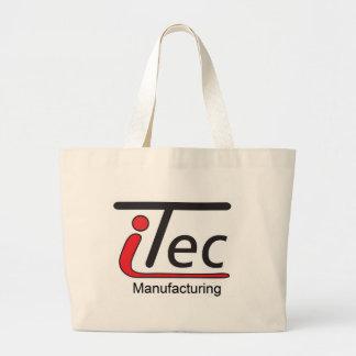 logotipo de Mfg del iTec Bolsa Tela Grande