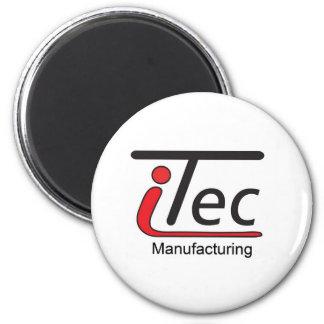 logotipo de Mfg del iTec Imán Redondo 5 Cm