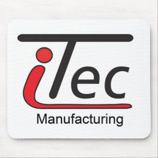 logotipo de Mfg del iTec Mouse Pads