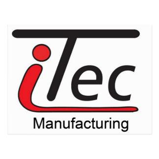 logotipo de Mfg del iTec Postales