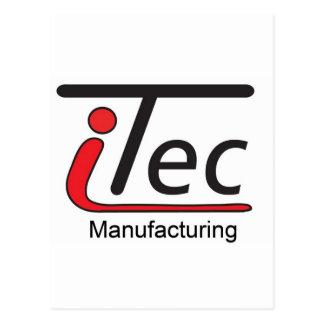 logotipo de Mfg del iTec Tarjetas Postales