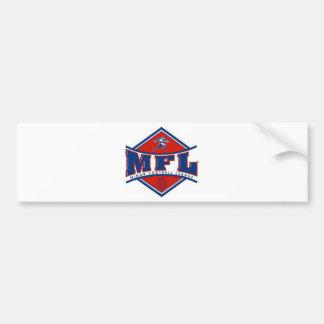 Logotipo de MFL Etiqueta De Parachoque
