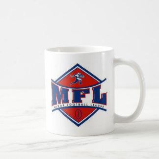 Logotipo de MFL Taza