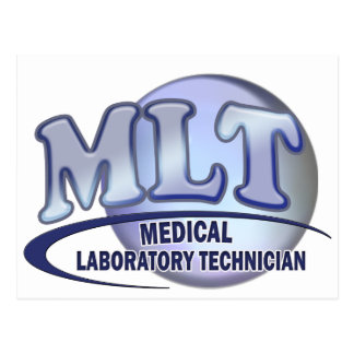 LOGOTIPO de MLT FunBlue - TÉCNICO de LABORATORIO M Postal