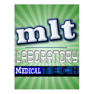 LOGOTIPO DE MLT - TECNOLOGÍA MÉDICA DEL POSTAL