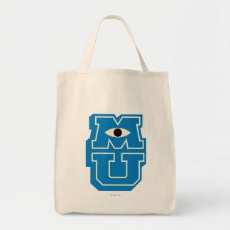 Logotipo de MU Bolsa Tela Para La Compra