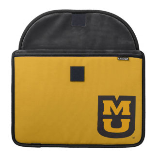 Logotipo de MU Funda Para Macbook Pro